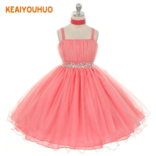 Children's Christmas Dresses For Girls Wedding Party Baby Girl Princess Birthday Dress Teenager Girl Clothing