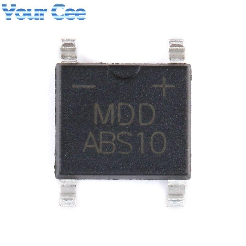 50PCS X MDD MB6F 0.5//0.8A 600V rectifier bridge