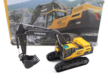 rare Out of print Original factory V LO 1:50 EC480D Alloy large excavator model Collection model Holiday gifts