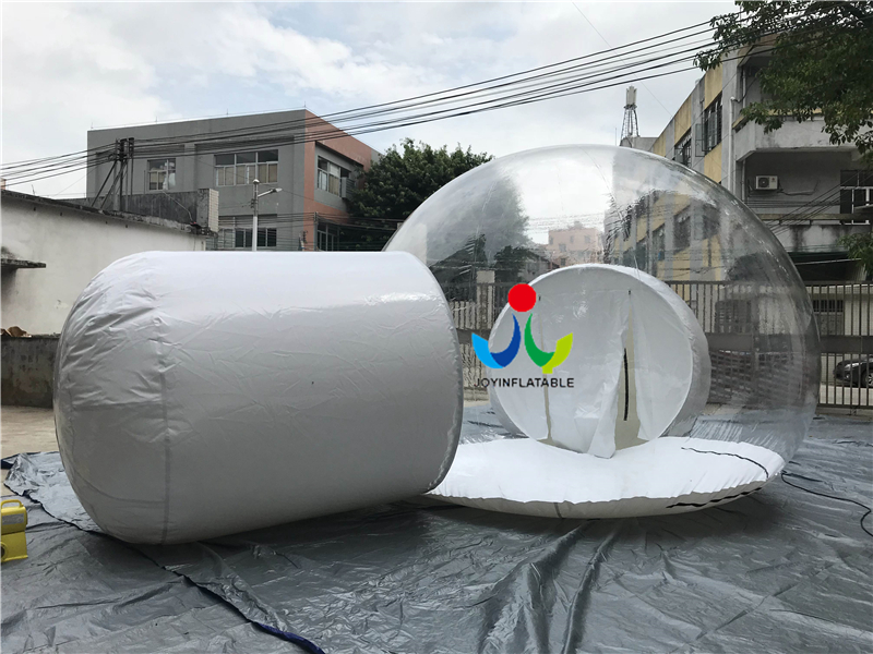 Blow Up Structure Inflatable Clear Dome tent Video