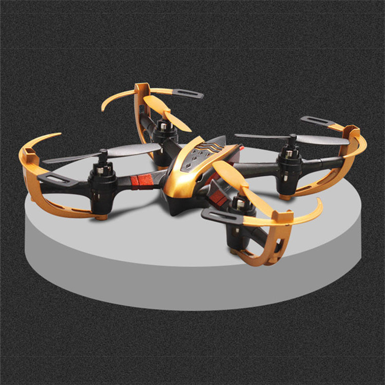 Yizhan X4 Helicopter 4CH 2.4G 6 Axis Radio Control Quadcopter RC Model Toys Drone 3D Flying Saucer(China)