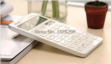 2016 New Original Deli 1548A Dual Power Office Commercial Calculator Solar Power