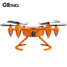 Gteng T907W FPV mini quadcopter with camera HD rc helicopter quad copter remote control toys drone quadrocopter dron aircraft(China)
