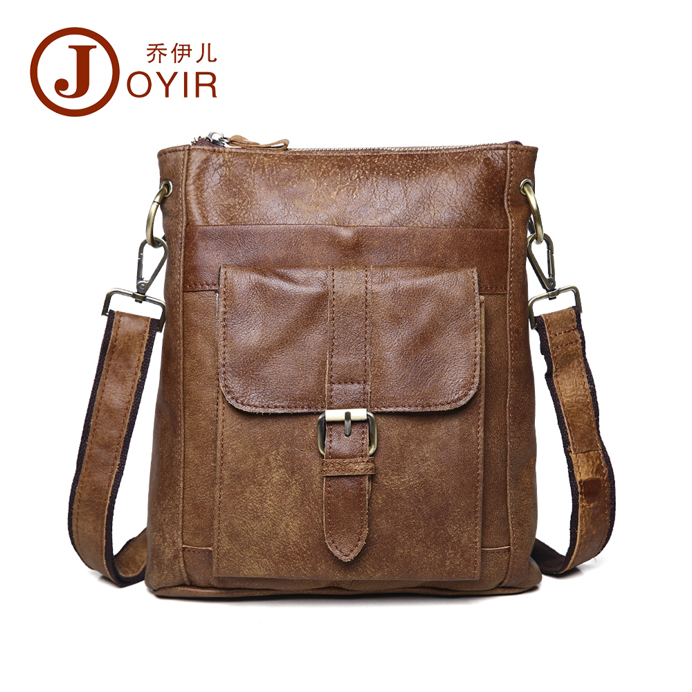 2017 Vintage men bag cowhide leather men messenger bag travel bags crossbody coffer genuine leather bags for man 8691<br><br>Aliexpress