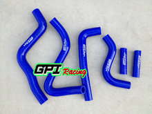silicone radiator hose FOR Kawasaki KX250 KX 250 1999 2000 2001 2002 99 00 blue(China)