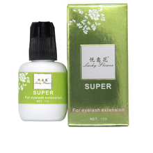 Lucky flower long lasting 50 days False Eyelash Glue 10ml Professional Individual Eyelashes Extension Glue Low Odor Low Irritant