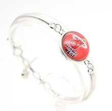2017 New Basketball Charm Miami Bracelets&Bangle for Women Super Bowl Fans Jewelry