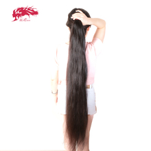 "Ali Queen Hair Products Virgin Brazilian Straight Hair Longer Length 30"" to 38"" 100% Human Hair Weave With Free Shipping"