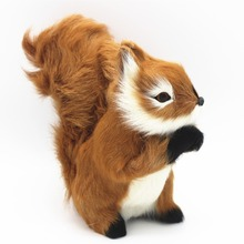 Simulation Squirrel Animal Christmas Decoration Simulation Artificial Squirrel Festival Gift Children toys(China)