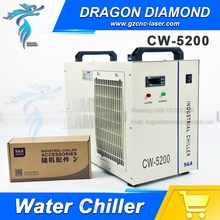 50HZ S&A CW5200 Industrial Water chiller for co2 laser cutting engraving machine cnc rourter machine