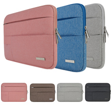 Hot Nylon Laptop Sleeve Bag Case For Lenovo Dell HP Asus Acer Apple Mac Macbook Air Pro Retina Notebook 11 12 13 14 15.4 15.6