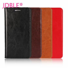 JDBLE Real Genuine Leather Flip Cover Xiaomi MI5 5X MIX MIX2 MI MAX2 MI NOT Business Cases REDMI NOTE4X PRO Wallet Capa