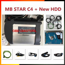 Top Quality MB Star C4 SD Connect Star Diagnosis+ Xentry 2017.07 Compact 4 Multiplexer For Mercedes Benz Diagnostic Tool