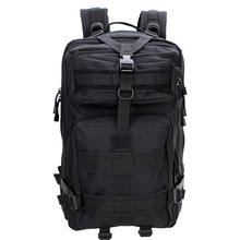 45L Outdoor Tactical Backpack Black 1000D nylon MOLLE Multifunction Military Rucksack Travel Camping Hiking Sports Bag(China)