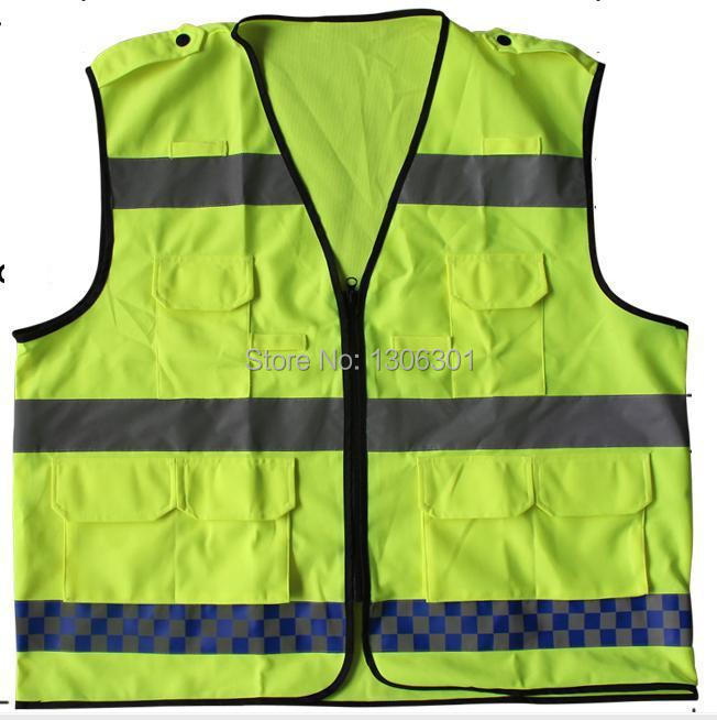 Reflective vest High quality reflective cycling vest made in China customized printing<br>