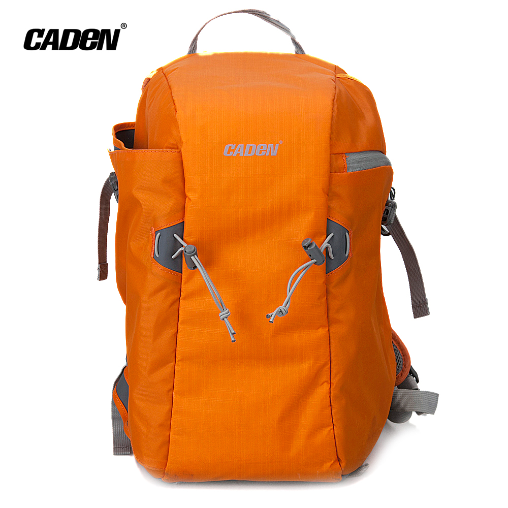 CADeN Camera Backpack Bags Photo Video DSLR Carry Case Waterproof Polyester Orange Storage Bag For Dslr Canon Nikon Sony E5<br><br>Aliexpress