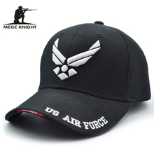 Mege 2017 Hot Selling Men Tactical Cap US Air Force Unisex Adjustable Street Hiphop Baseball Cap Fitted Sunscreen Hats(China)