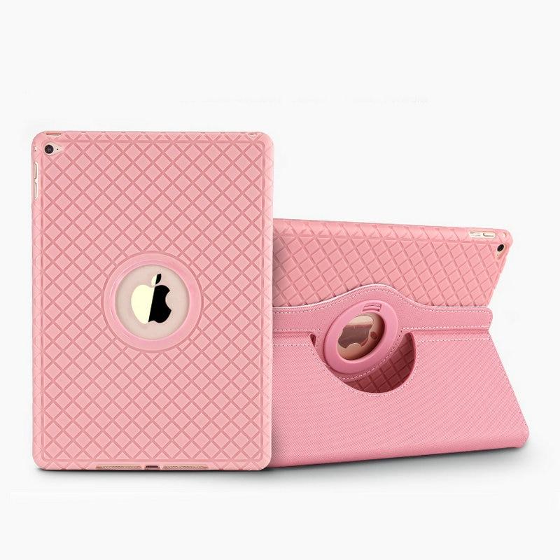New for ipad mini 4 case 360 rotatable Soft TPU back cover For Apple iPad Mini4 Cases Soft Silicon full protector case+film<br><br>Aliexpress