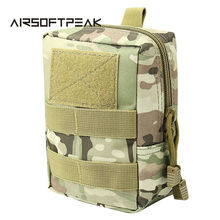 Outdoor 1000D Military Molle Equipment Waist Bag Tactical Portable Waterproof Small Size Waist Pouch Camping Hiking Package(China)