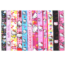 Hot Sale! Mixed 10 pcs Popular  Cartoon Hello Kitty Lanyard Key Chains  Children Gifts Party Favors S107