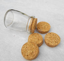 43mm* 39mm* 13mm size, 70pcs/lot! soft cork stopper for glass bottles,stopper,bung,wooden plug etc.(China)
