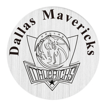 American Dallas Basketball Team Floating Locket Plates 22mm Stainless Steel Window Plates 10PCS
