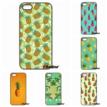 For iPhone 4 4S 5 5C SE 6 6S 7 Plus Samsung Galaxy Grand Core Prime Alpha Fruit Pineapple Nanas Ananas Print Phone Cover Capa