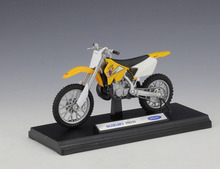 Welly 1:18 SUZUKI RM250 MOTORCYCLE BIKE DIECAST MODEL TOY NEW IN BOX FREE SHIPPING