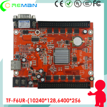 TF-F6UR P1.9 P2 P3 P4 P4.75 P6 P8 P10 led display control board / Control card for big led sign display one color two color(China)