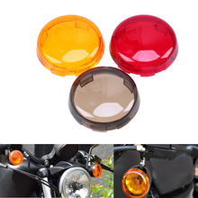Motorcycle Accessories Turn Signal Light Indicator Lens Cover Cafe Racer Lights Bike For Harley Dyna 883 Sportster 1986-2015 ATV