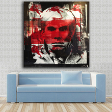 Large sizes Wall Art Prints Fine Art Prints oil Painting Wall Decor Warhol red black Painting for Print Wall picture NO FRAME