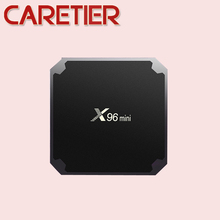 1PC Android 7.1 TV Box X96 mini KD 17.4 Amlogic S905W Quad Core 2GB/16GB UHD H. 265 WiFi NET BOX(China)