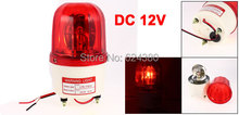 DC 12V 90dB Industrial Signal Tower Buzzer Sound Alarm Light LED Strobe Flash Siren Emergency Rotary Warning Lamp Red(China)