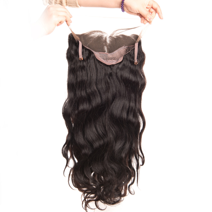 [ALIPOP] Pre Plucked Brazilian Body Wave Lace Front Human Hair Wigs For Black Women With Baby Hair 8''-24'' Remy Lace Wig