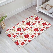 Buy Christmas Theme Gift Boxes Red Christmas Balls Stars Door Mats Floor Mat Bath Mat for $13.80 in AliExpress store