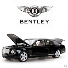 Bentley Mulsanne 1:18 rastar Toy Car model  Simulation alloy car models Boy  toy car Limousine Static Cars  Gift Collectables