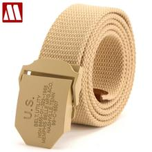 Hot Belts 110CM 140CM Military Canvas Belt For Mens And Woman US Buckle Belts Luxury Outdoor Sports Ceinture Jeans Casual Cintos