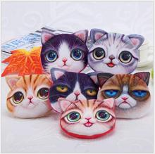 2Pcs Cute Cartoon Cat Meow Star Series Wallet Key Bag  Creative Handsome Cat Shape Candy Storage Box Best Gift Fast Shipping