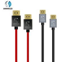 HDMI Cable 1m 2m 3m High-Speed HDMI 2.0 HDTV Cable Supports Ethernet 3D 4K and Audio Return Connects Blu-ray players PS4,Etc
