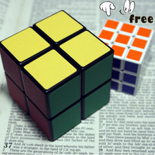 Buy 1, get 1 Free 2x2x2 51 MM Pocket Magic Cube for Children 2*2*2 Puzzle Cubo Toy + Mini Rubik Cube 3*3*3 as gift