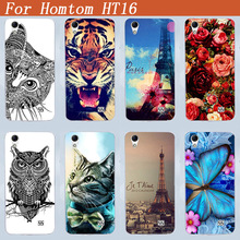 Buy Perfect Eiffel Towers Design Cover Homtom HT16 ht16 Soft TPU Case Luxury DIY Animals Painted HOMTOM HT 16 tpu Cover Case for $1.46 in AliExpress store