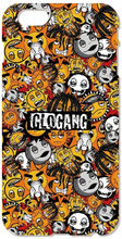 Retail Glo Gang Logo phone Cover For iphone 4S 5 5S SE 5C 6 6S Plus For iPod Touch 4 5 6 Back Skin Plastic Hard Cell Mobile Case