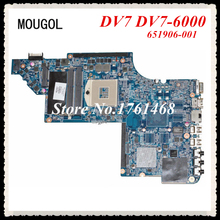 MOUGOL 651906-001 mainboard fit For HP DV7 DV7-6000 Laptop motherboard 100% WORKING FAST Shipping(China)