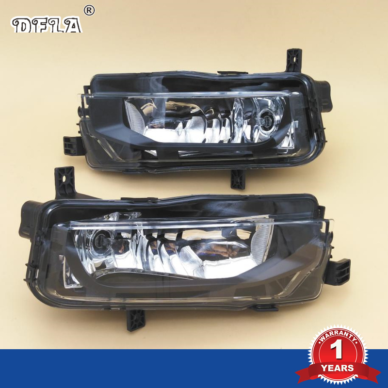 Car Light For VW Transporter Multivan T6 T7 2016 2017 Campmob Car-Styling Front Bumper Fog Lamp Fog Light<br>