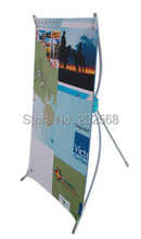 "Freeshipping!Mini Counter X Banner Stand+FREE Printing, 9.5""x16.5"""