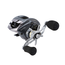 11BB 6.3:1 Low Profile Baitcasting Reel Left/Right Hand Bait Casting Lightweight Water Drop Wheel w/ Aluminum Spool and Handle