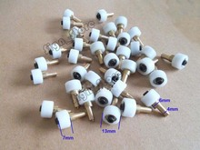 10pcs/set 40W Tube CO2 Laser Stamp Engraver 3020 3040 3050 DIY Part Kit Head Carriage Wheel Rollers(China)