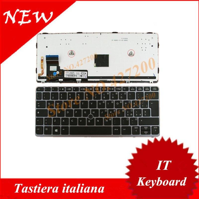 NEW for HP elitebook 820 G1 820 G2 keyboard Black Frame Backlit US 735502-001