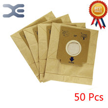 50Pcs High Quality Adaptation Electrolux Vacuum Cleaner Accessories Waste Vacuum Paper Bag ZC1120B / ZMO1510(China)