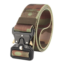 Buy Army Style Men Tactical Belt Military Nylon Camouflage Training Belt Multifunctional Mens Outdoor Combat Hunting Belts Waistband for $8.48 in AliExpress store